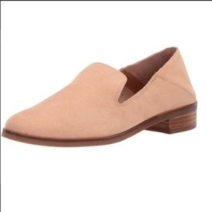Lucky Brand light tan soft leather loafers, 9.5
